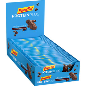 PowerBar ProteinPlus Bar Caja 30x35g, Chocolate Brownie